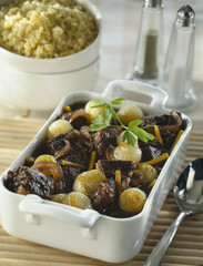 beef cheek,onion and carrot stew