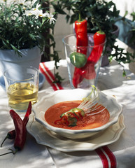 red pepper gaspacho