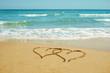 Fototapeten,herz,sand,sommer,liebe