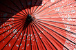 red umbrella in japan