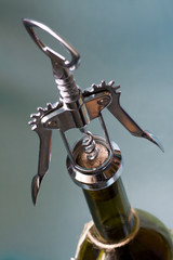Cork Screw. Opening Wine