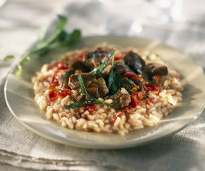 lamb and sage risotto