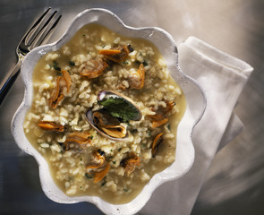 littleneck clam risotto