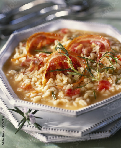 pancetta and rosemary risotto