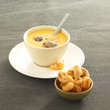 cinderella soup,anchovy fritters
