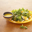 cress and haddock salad