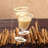 banana and cinnamon milk shake