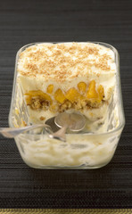 mango and vanilla tiramisu
