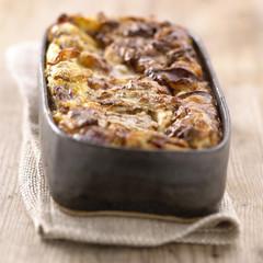 duck magret,walnut and gorgonzola clafoutis