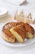 galette des rois with crown