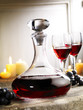 decanter of red wine
