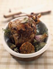 provençal-style leg of lamb