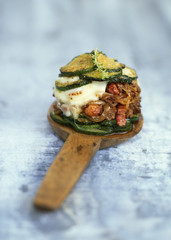 beef and zucchini parmentier