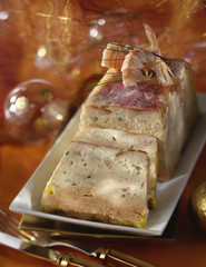 red mullet and dublin bay prawn terrine