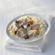 veal blanquette with rice