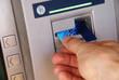 Cash withdrawal via ATM