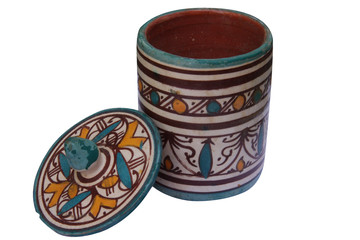 poivrière poterie mexicaine