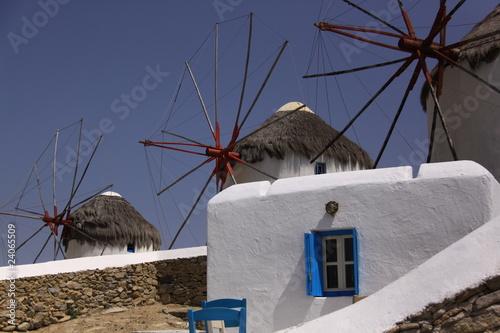 Moulins des Cyclades