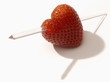 heart-shaped strawberry
