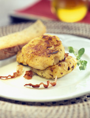 sardinian cabbage galettes