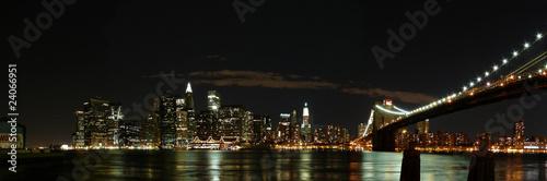 Brooklyn Bridge bei nacht - 24066951