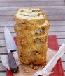 artichoke,basil and tomato savoury cake