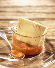 honey and saffron iced parfait