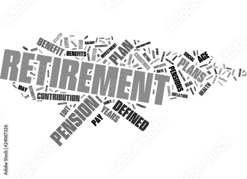 Retrement word collage