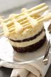 two chocolate cake