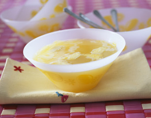 pineapple consommé