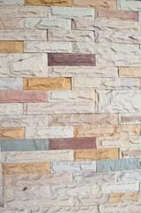 Abstract brick blocks wall background