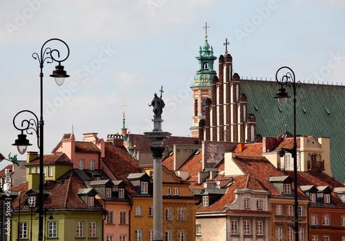 Zdjęcia na płótnie, fototapety na wymiar, obrazy na ścianę : Old Town of Warsaw