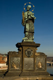 Statue on the Charles bridge