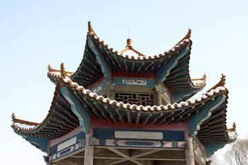 top of pavilion