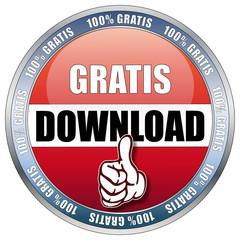 Gratis Download - 100% Gratis - Button