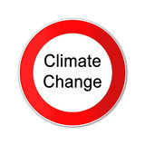 button climate change, sign, seal, poster
