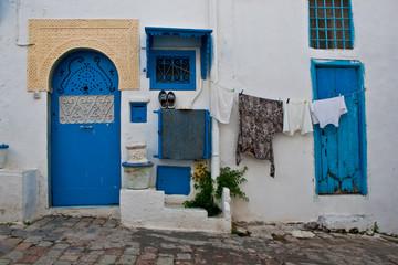 Case, tunisia, panni