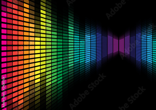 Abstract Background - Graphic Equalizer