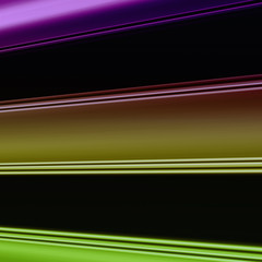 Farbige breite Streifen mit Platz für Text