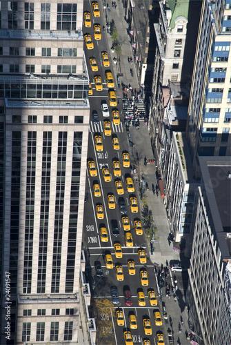 Ich bin in der Taxiwelt