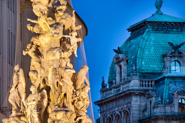 Plague Column in Vienna