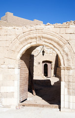 entrance into Citadel