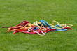 ropes on grass