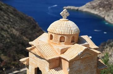 Eine Kirche in Griechenland