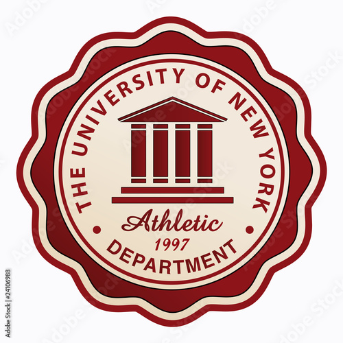 University Athletic Patch