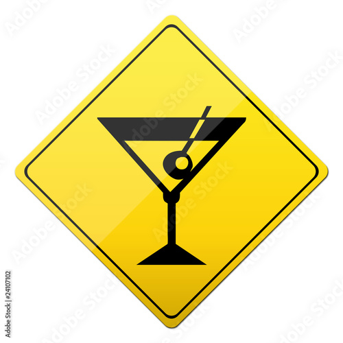 cocktail sign, schild, button, party