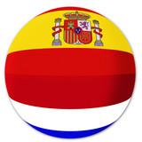 Spain versus Netherlands poster
