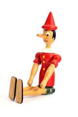 Pinocchio - manichino in legno