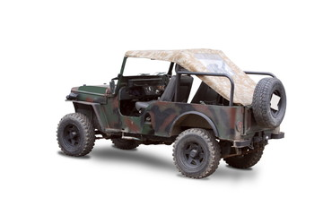 old military jeep