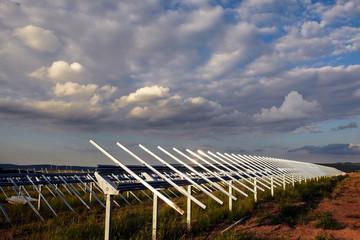 photovoltaik power plant building site 08